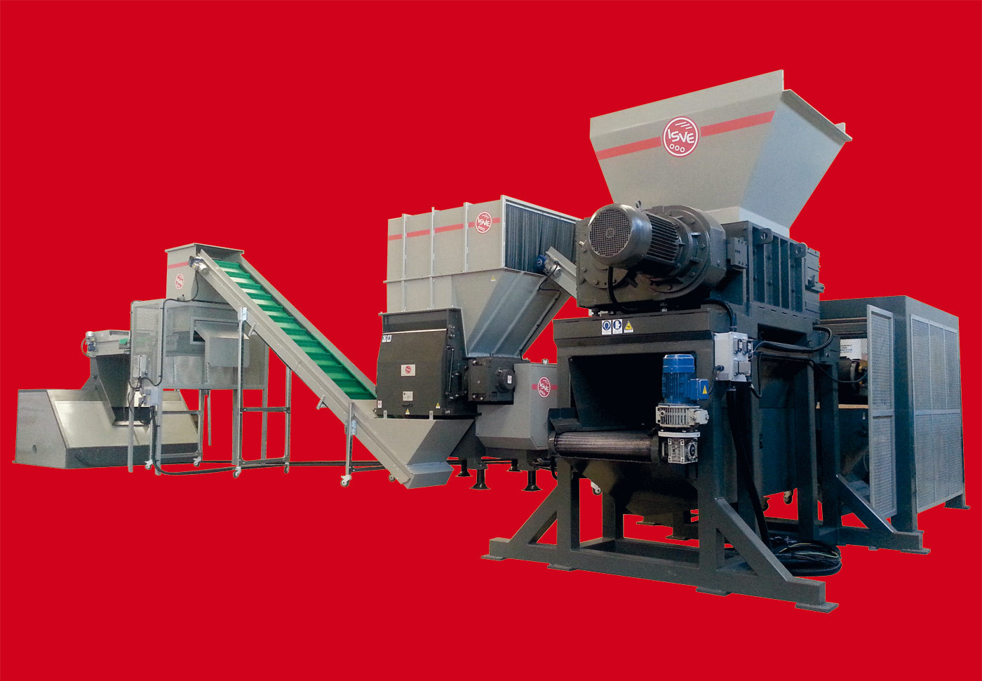 Impianti di triturazione ISVE - Linee dedicate